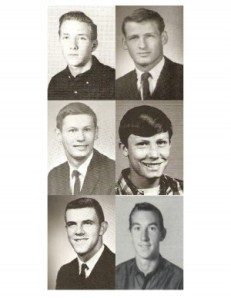 L-R. Hunt, Roberts, Kirkland, Meeks, Fraze, Dotson