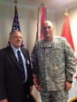 Jan Scruggs and General Odierno