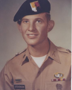 Jesse Brent Stevenson, one of many members of the Church of Latter-day Saints to fall in Vietnam.