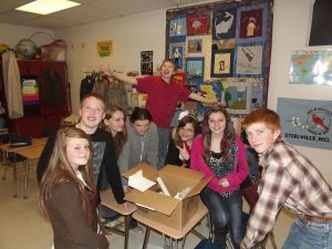 Left to right: Shannon, Cole, Shawna, Janelle, Mikey, Nicole, Justice, and Wyatt