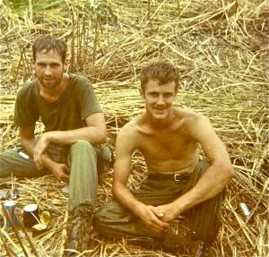 Craig Johnson, left, and John Seabaugh