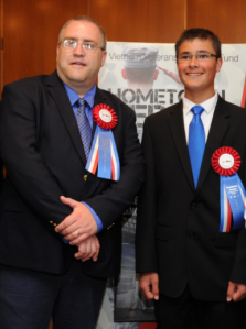 (left) Andrew Demko, (right)  David Placido