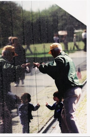 5-5 Volunteer w small child 2001