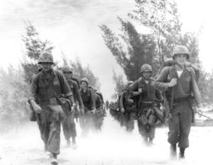 Beach activity at Da Nang, Vietnam during landing of United States Marines of the 9th Marine Expeditionary Brigade in March of 1965. - See more at: http://www.vvmf.org/news/article=To-Our-Marines-Thank-You-and-Semper-Fi#sthash.l1GH93S7.dpuf