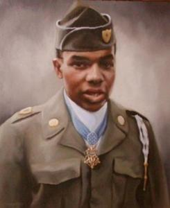 Posthumous Medal of Honor recipient, Eugene Ashley.
