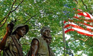 The Three Servicemen Statue. Photo/ Dan Arant