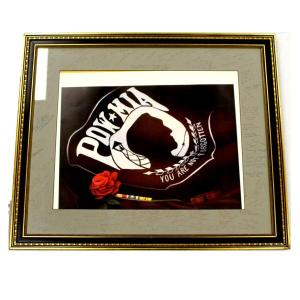 Framed print of an acrylic painting entitled,