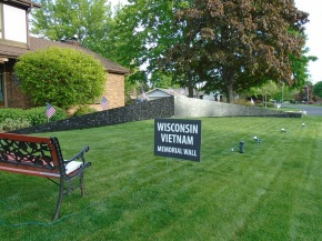 WI Vietnam Memorial Wall