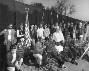 Veterans at Wall -credit  VFW