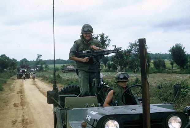 4-Bill Shugarts, serial commander and gunner on Tien Phouc convoy in Heip Duc valley-1970
