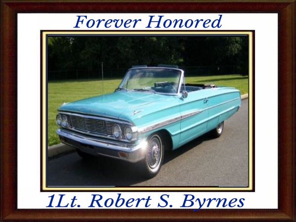 1964 ford in memory and to honor 1lt robert byrnes 1b (1)