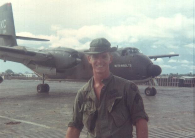 Sgt Elder - Tan An Airstrip 1969