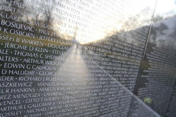 Washington Monument Reflection (2)