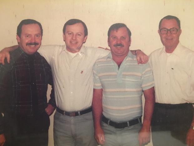 Steve, Pat, Terry, Robert - Wright Story