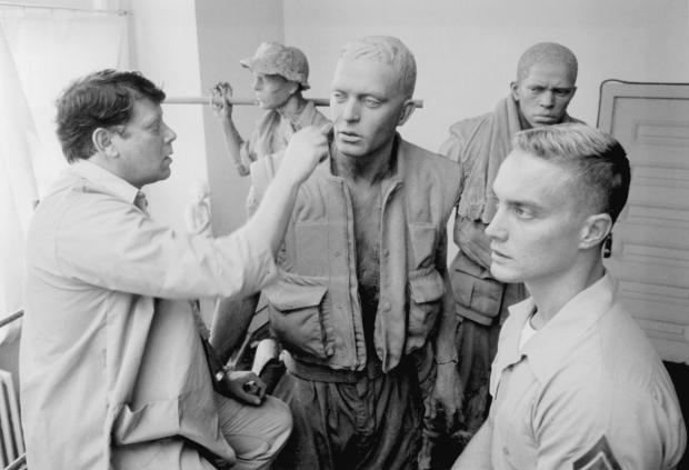 Fig. 90 Rick Hart Three Soldiers - Sculpting 14x10 300- Chesley LLC