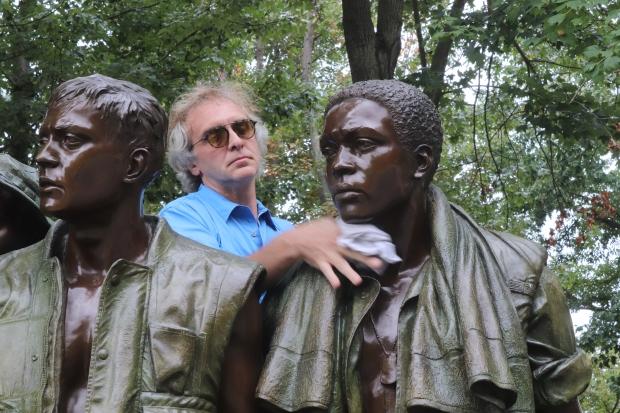 Three Servicemen Statue Cleaning - 2019 - Latosha Adams (28)